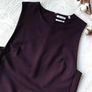 Aritzia Babaton | Plum Sleeveless Tunic Size Large